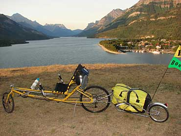 Longbikes Slipstream with trailer